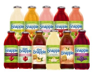 snapple case Snapple case study despite the fact that many small startup premium fruit drink companies stayed small or even disappeared during the period from 1972 to 1993, snapple was able to flourish.